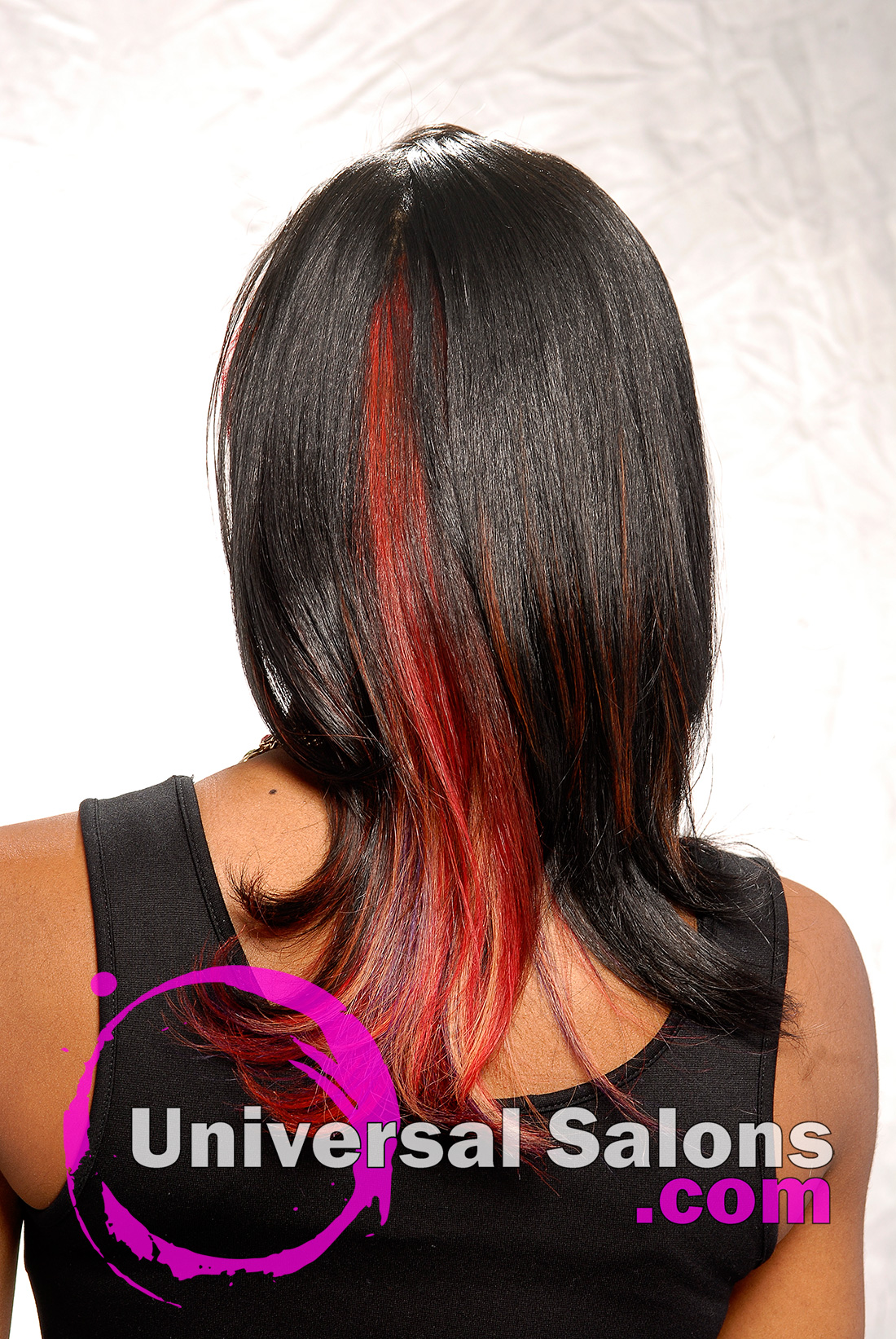 Long Hairstyle with Hair Color from Melissa Green