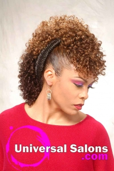 Bold Fish Braid Mohawk Hairstyle from Shae Thompson (3)