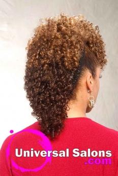 Bold Fish Braid Mohawk Hairstyle from Shae Thompson (5)