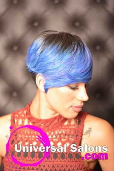 Check Out This Short Hairstyle with Color from Amelia Travis (4)