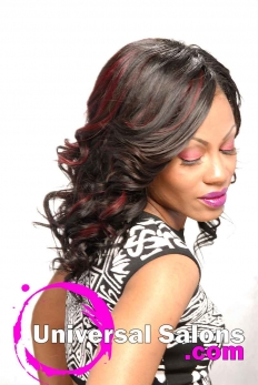Elegant Long Curly Bob Wig from Denise Granberry (4)