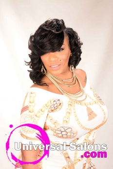 Elegant Sew-In Bob Hairstyle from Nicole Musgrave (2)