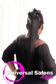 Purple Passion Ponytail from Katina King (5)