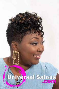 Short Hairstyle for Black Women with Color from Mel Wright (4)