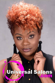 Short natural Hairstyle with Curls and Color from Tasha Hull (4)