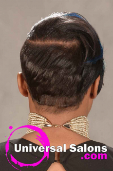 Short Pixie Haircut with Hair Color from Ashley Ingram (4)