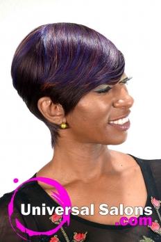 Short Quickweave Haircut with Color from K'Shears (4)
