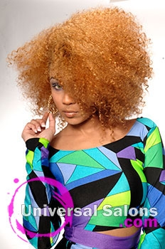 Natural Hairstyle with Color from Marie Ferguson