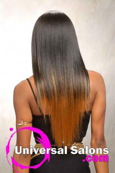 Terresa Murray's Silky Long Black Hairstyle (4)