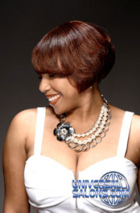 Constance Purnell's Bob Hairstyle with Hair Color