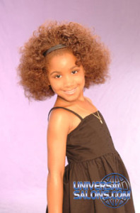 High Volume Bob Hairstyle for Little Girls