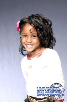 Curly Bob Black Hairstyles for Little Kids