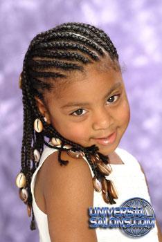 Cornrows for Black Hairstyles for Little Girls