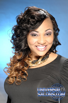 Long Curly Ombre Hair Extensions from Marcus Doss