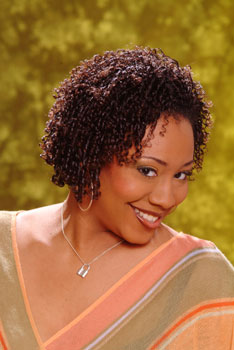 Natural Hairstyle with Tight Curls from Yvette Rankin