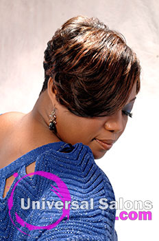 A Fun and Flirty Short Hairstyle from Tammy Herod