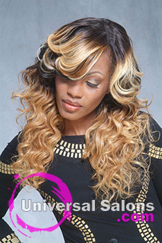 Denise Granberry's Lace Closure Ombre Sew-In Hairstyle