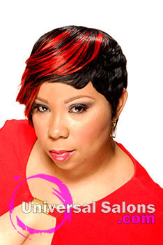 Nakia Gorham's Short Bob Hairstyle with Hair Color
