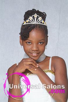 Nacole Brown's Princess Locs Natural Updo Hairstyle