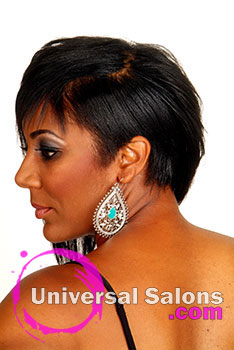 Ms. Jackee's Chic Feathered Bob Hairstyle