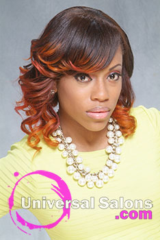 Ombre Hair Color on a Classic Bob Hairstyle from Fayetteville NC Hair Stylist Denise Granberry