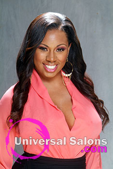 Mz. Z's Complex Simplicity Black Hairstyle Using Extensions
