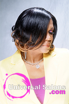 Medium Length Ombre Hairstyle from Tiffany Hudson