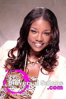 """Shae Thompson's """"Hot Chocolate"""" Sew In Weave Hairstyle"""