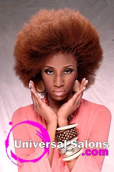 "Rasheeda Berry's ""Afro Centric"" Natural Hairstyle"