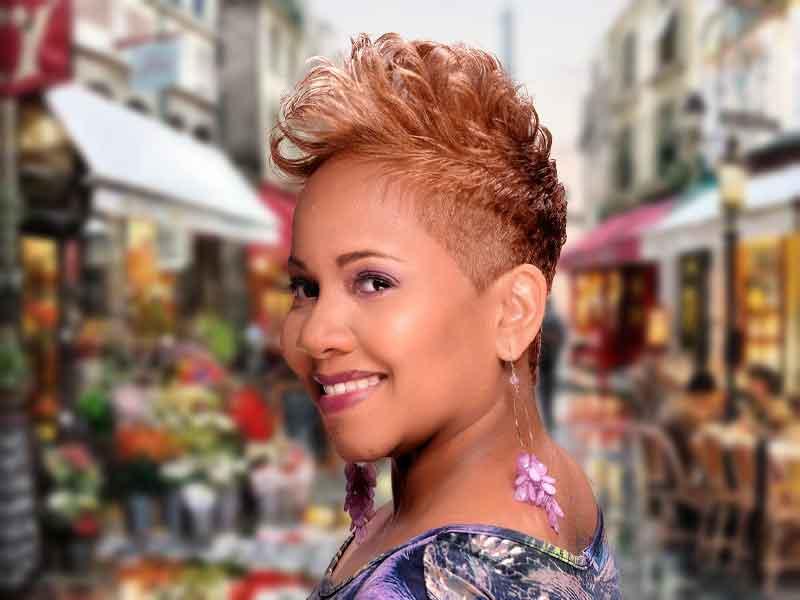 Short Blonde Hair Color Ideas for Black Women