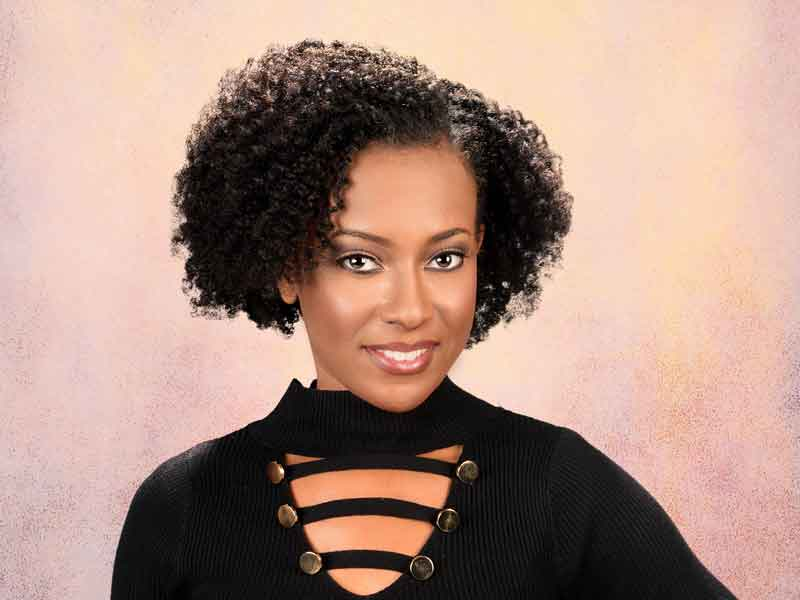 Natural Twist Set Hairstyle from Ashley Wright