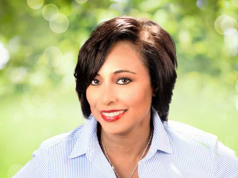 Short Hairstyle with Hair Color from Karen Williams