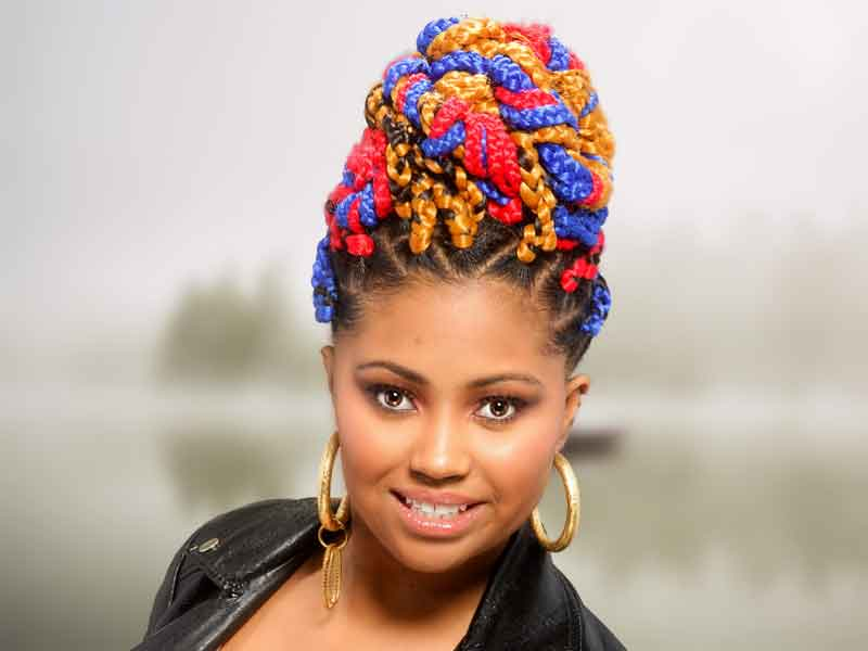 professional hair stylists, Box Braids Hairstyle