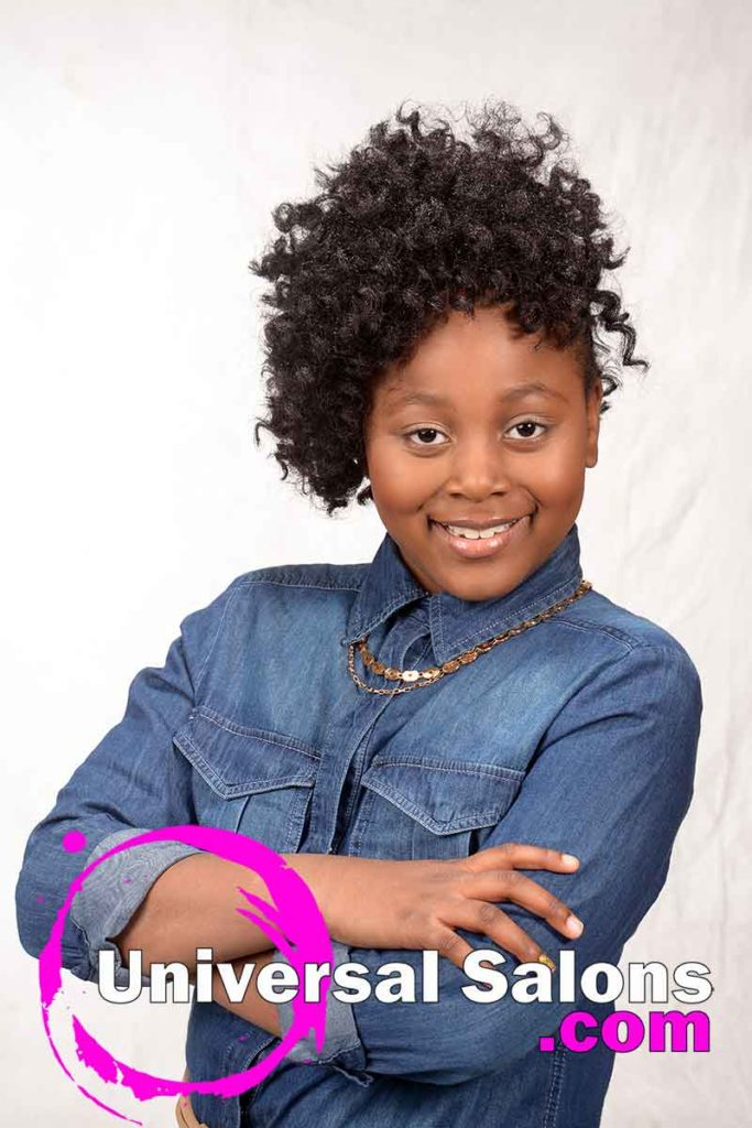 Front: Cute Natural Hairstyles