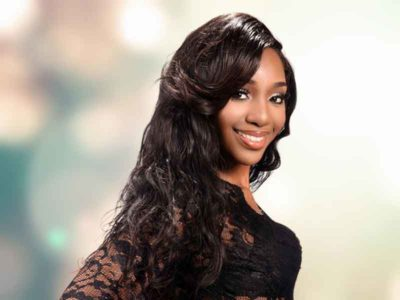 Wavy Hair Sew In Hairstyle