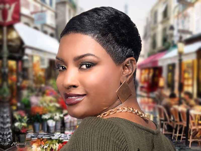 Modern Pixie Haircut for Black Women