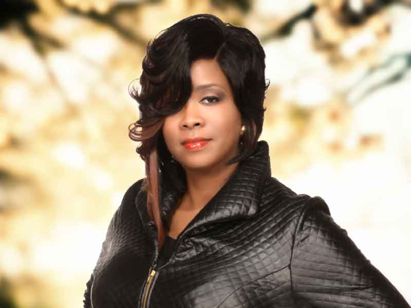 Lace Front Curly Bob Hairstyle from Carla Harris
