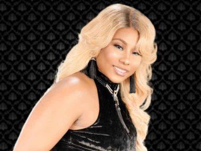 Long Blonde Quickweave with a Lace Enclosure & Voluptuous Curls