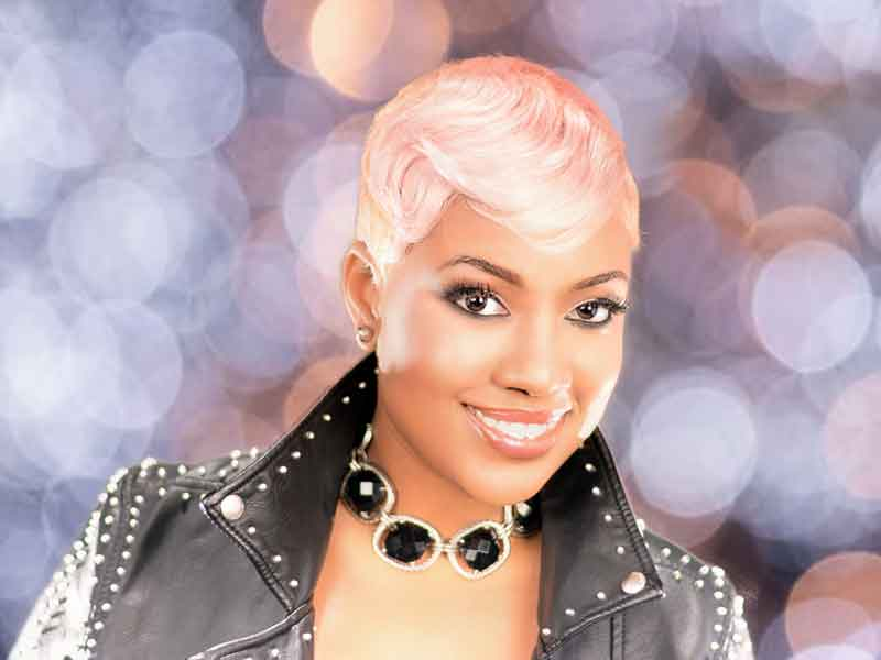Edgy Short Hairstyle for Black Women