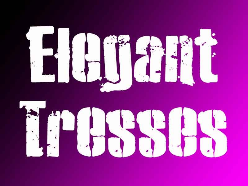Elegant Tresses Banner