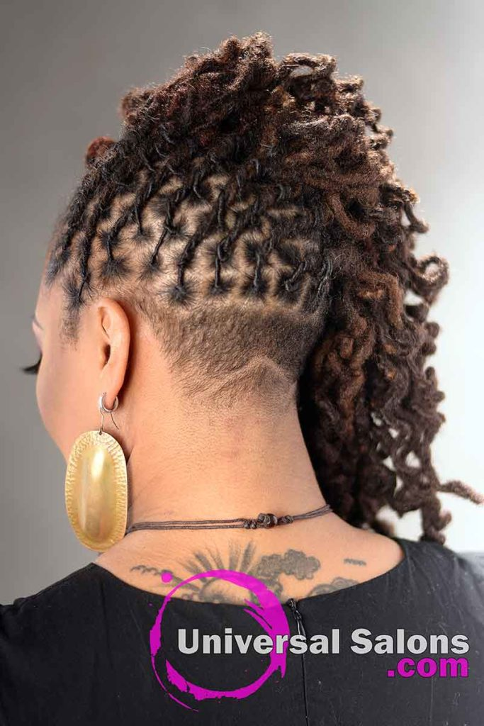 Back Box Braids: Beautiful Handcrafted Permanent Loc Extensions