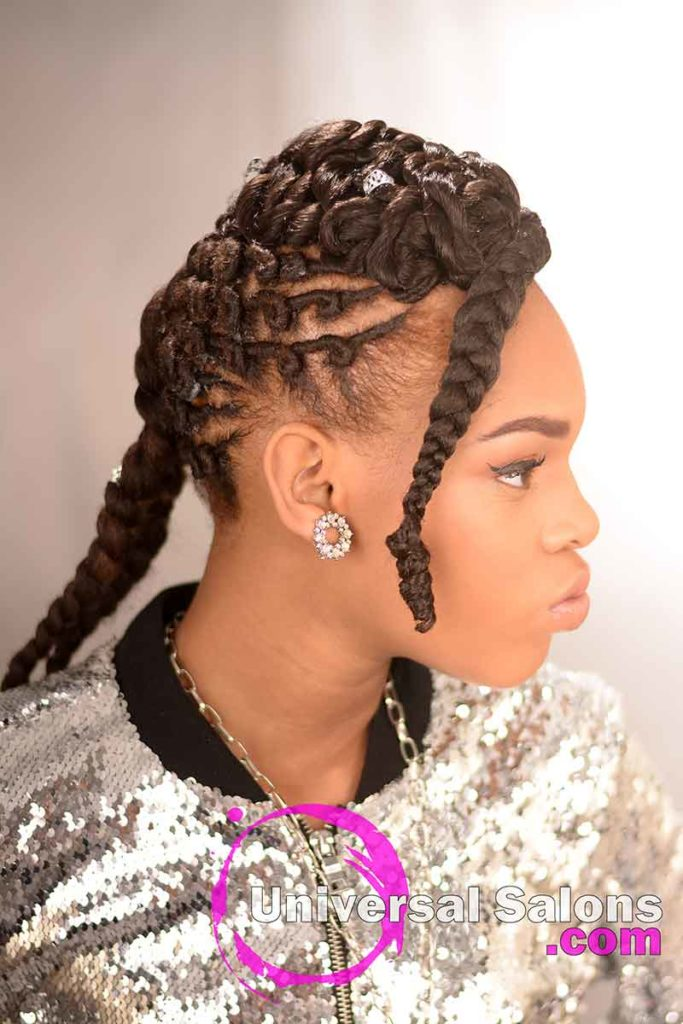 Right Inside: Alluring Kids Braid Hairstyle from Marquita Briggs from Columbia, SC