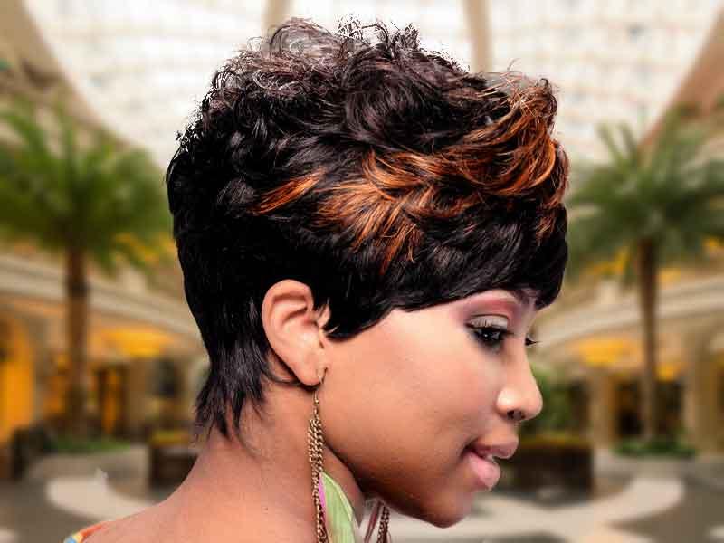 Short Fantastic Voyage Hairstyle