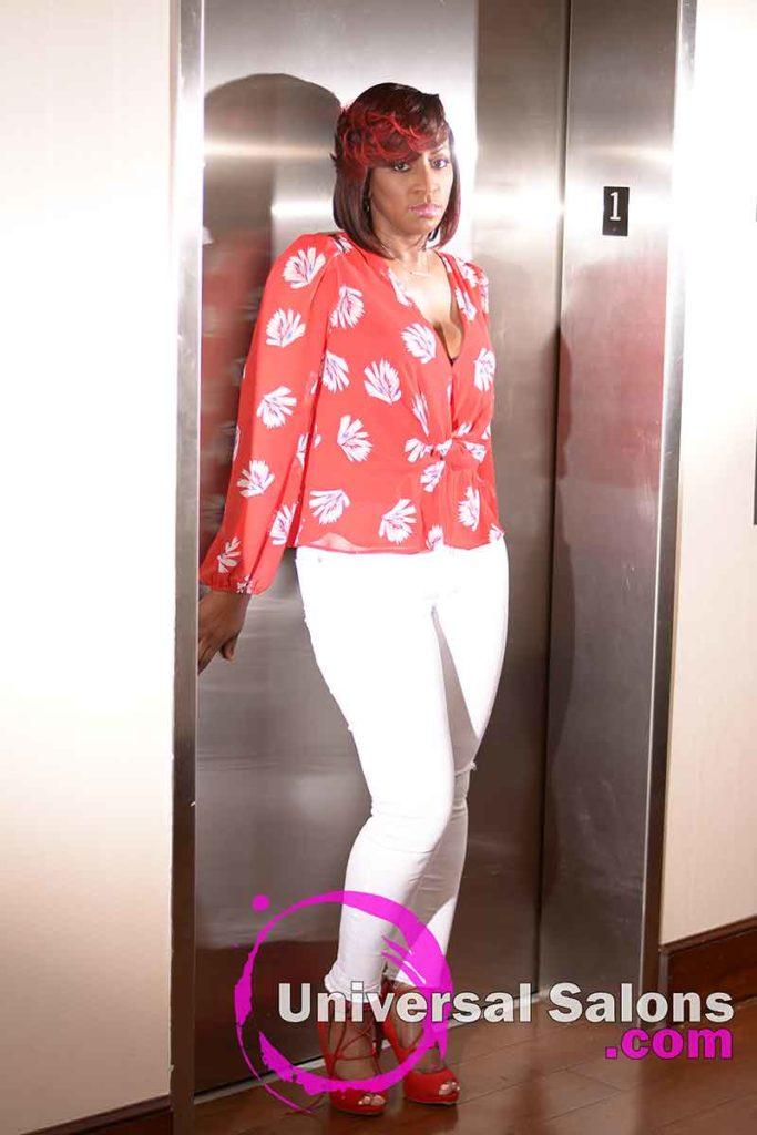 Full View: Elegant Bob Hairstyle for Black Women by Deedra Mcleod in Hartsville, SC