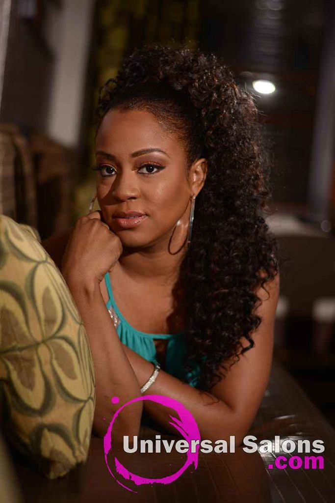Location: Fantastic Long Curly Ponytail Hairstyle from Carla Harris in Columbia, SC