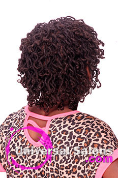 Back View: Kid's Natural Locs Hairstyle