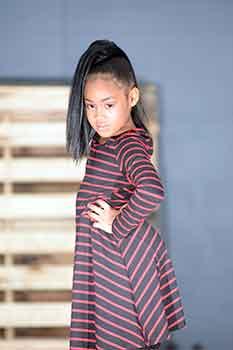 Left Side: Sleek Straight Ponytail Black Hairstyles for Little Girls
