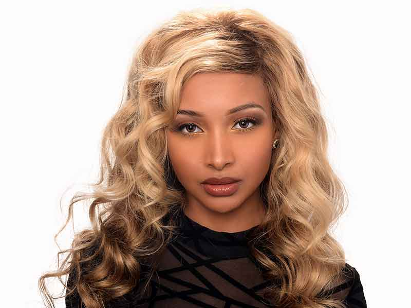 Long Lace front Wig Hairstyle From Chondra Wilson in Charlotte, NC