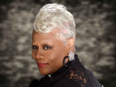 Silver Haircut With Finger Waves