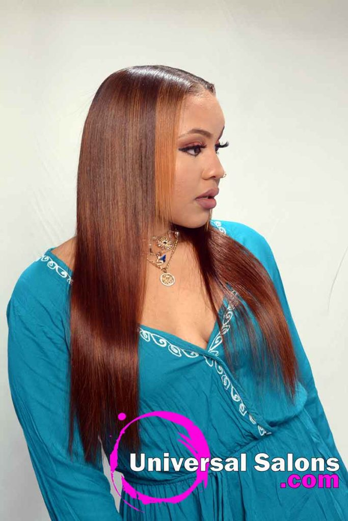 Right View Long Microlinks Hairstyles